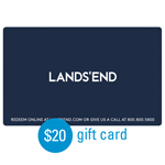 LANDS' END<sup>®</sup> $20 Gift Card