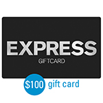 EXPRESS<sup>®</sup> $100 Gift Card