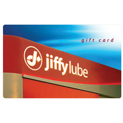 JIFFY LUBE<sup>&reg;</sup> $100 Gift Card - Come see our trained experts for an oil-change, preventive maintenance and more.