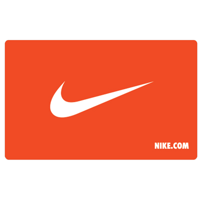 NIKE<sup>&reg;</sup> $5 Gift Card - Find everything you need in sportswear and equipment!