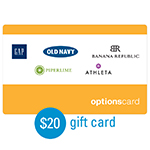 OLD NAVY<sup>®</sup> $20 Gift Card